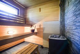 Pienemmän asunnon sauna