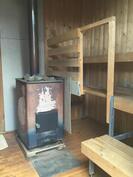 Erillinen PUULÄMMITTEINEN sauna