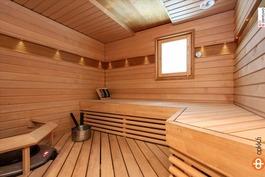 Heti valmis kiuas ja ihana sauna