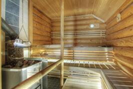 Saunatuvan sauna