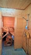 Rantamökin sauna ja suihkuhuone