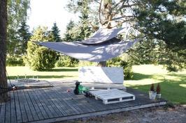 Kesäpäivän rentoutumispaikka