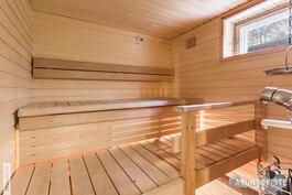 ...ja sauna