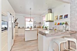 Talo B, keittiötä