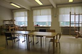 2. kerroksen luokkatila