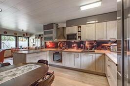 Upea keittiö uusittiin 2013