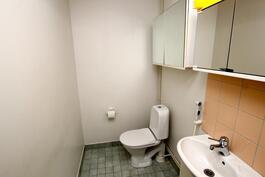 Tilava erillinen wc