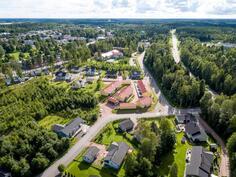 Pentbyn asuinaluetta / Pentby bostadsområde
