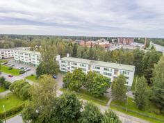 Sepänkylän keskusta-asumista / Centrum boende i Smedsby