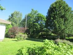 Omalla n. 1900 m2 puutarhatontilla on lisäksi myös mm. marjapensaita ja perennoja!