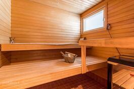 Nauti oman saunan hyvistä löylyistä - hyvät ja siistit tilat