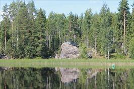 Huvimaja järveltä