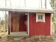 Julkisivu / sauna