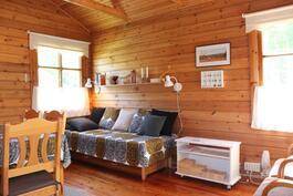Erittäin siistit ja hyvin pidetyt tilat - mökin koko 20 m2 + nukkumaparvi