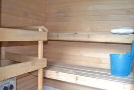 huoneisto 1 sauna