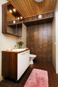 Alakerran kylpyhuone/wc.