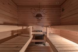 Kerrankin tilava sauna