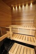 Upea sauna!