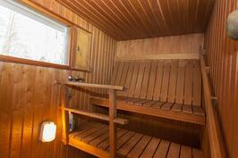 saunan tilavat lauteet