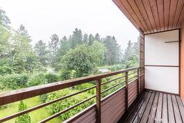 Leveä parveke / Bred balkong