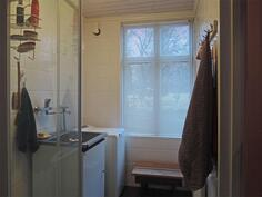 Pesuhuoneessa kodinhoitotilat