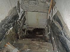 Huoneiston alla kellari 1550-luvulta