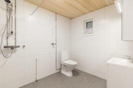 Tilava kylpyhuone / Rymligt badrum