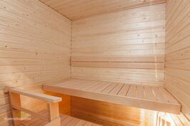 Saunaa käytetty 2 kertaa