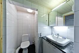 Alimman kerroksen wc
