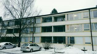 2. kerroksen koti, juuri uusitut ikkunat!