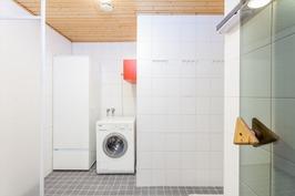 Pesuhuone uusittu 2007