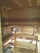 Taloyhtiön uusittu saunaosasto