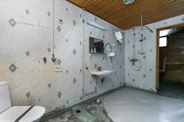 Kylpyhuoneessa myös pinnoitushommat edessä