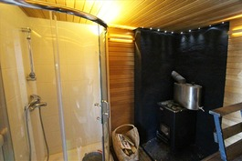 Sauna suihkulla