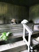 ulkorakennuksessa sauna