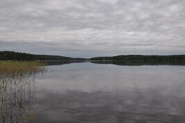 Varesjärvi rannalta etelään