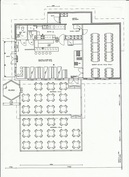 N. 165/181 m2 pääravintolarakennuksen pohjapiirros ohjeellinen! Anniskeluoikeudet myös terasseilla!