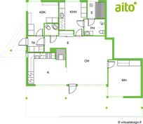 Huoneisto 80 m2
