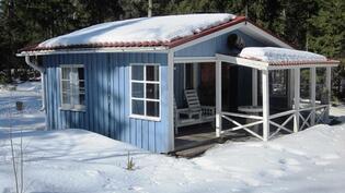 Sauna talvella