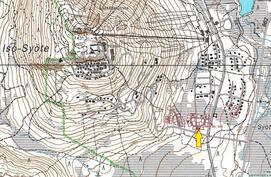 Iso-Syöte, Rahkasarantie 22 A ja B sijainti kartta