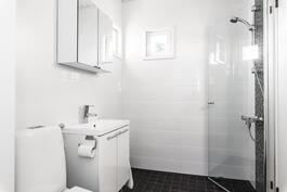 Sekä kylpyhuone/wc