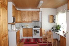 Päärakennuksen keittiö