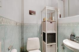 Asumismukavuutta lisää erillinen wc