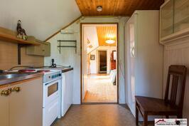 Torpan yläkerran keittiö