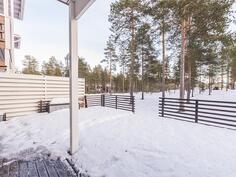 Terassilta näkymät Jäälinjärvelle
