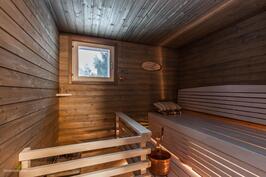 kaunis uusittu sauna v. 2016