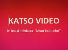 KATSO VIDEO: Muut Lisätiedot