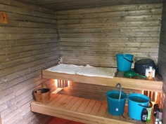 Sauna juuri remontoitu