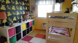 2. makuuhuone (lastenhuone)