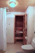 Kylpyhuone ja sauna